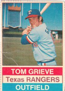 1976 Hostess Tom Grieve