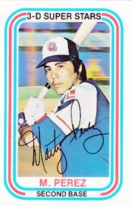 1976 Kelloggs Marty Perez