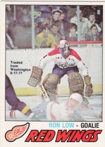 1977-78 OPC Ron Low