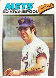 1977 Topps Ed Kranepool