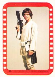 1977 Topps Star Wars Sticker 42