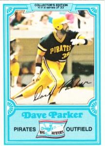 1981 Drake's Dave Parker