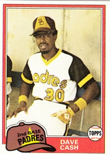 1981 Topps Dave Cash