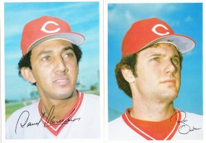 1981 Topps Reds 5x7 Concepcion Oester