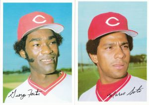 1981 Topps Reds 5x7 Foster Soto