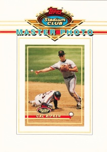 1993 Stadium Club Master Photo Cal Ripken