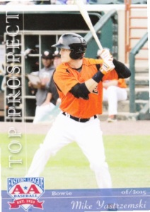 2015 Grandstand EL Top Prospects Mike Yastrzemski