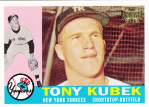 Topps All-Time Fan Favorites Tony Kubek