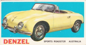 1961 Topps Sports Cars Denzel