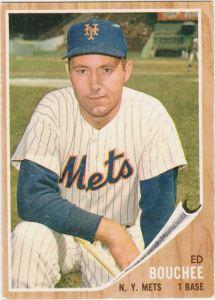 1962 Topps Ed Bouchee