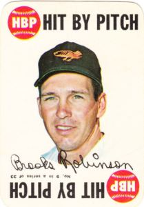 1968 Topps Game Brooks Robinson