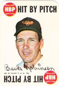 1968 Topps Game Brooks Robinson