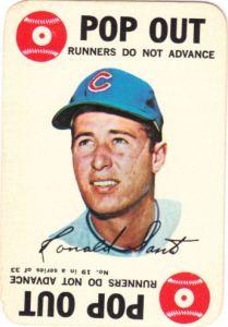 1968 Topps Game Ron Santo