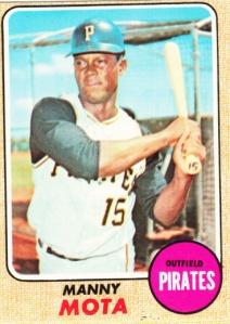 1968 Topps Manny Mota