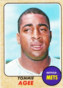 1968 Topps Tommie Agee