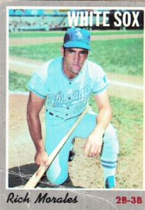 1970 Topps Rich Morales
