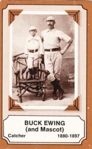 1975 Fleer Pioneers Of Baseball Buck Ewing