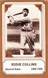 1975 Fleer Pioneers Of Baseball Eddie Collins