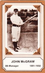 1975 Fleer Pioneers Of Baseball John McGraw