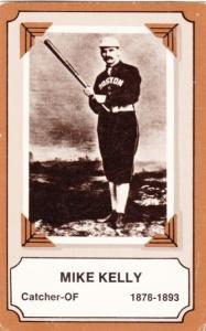 1975 Fleer Pioneers Of Baseball Mike Kelly
