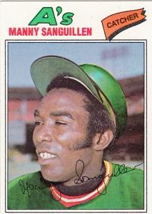 1977 Topps Manny Sanguillen