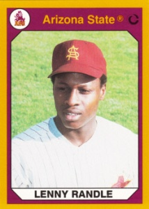 1990 Collegiate Collection ASU Lenny Randle