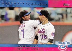 2011 Opening Day  Superstar Celebrations Jose Reyes