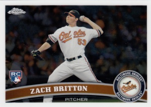 2011 Topps Chrome Zach Britton