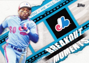 2014 Topps Breakout Moments Tim Raines