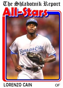 2015 TSR AS-1 Lorenzo Cain