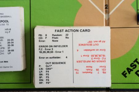 Statis-Pro Fast Action Deck