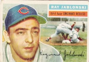 1956 Topps Ray Jablonski