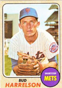 1968 Topps Bud Harrelson