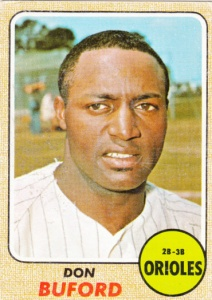 1968 Topps Don Buford