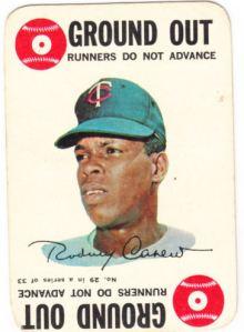 1968 Topps game Rod Carew