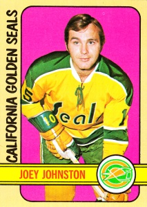 1972-73 Topps Joey Johnston