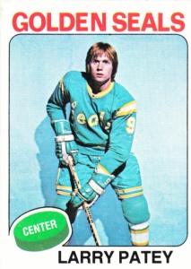 1975-76 Topps Hockey Larry Patey