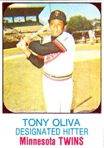 1975 Hostess Tony Oliva