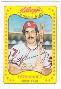 1981 Kelloggs Keith Hernandez