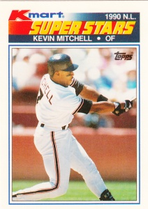 1990 K-Mart Superstars Kevin Mitchell