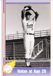 1991 Pacific Nolan Ryan Set - Nolan at Age 20