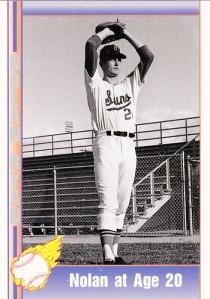 1991 Pacific Nolan Ryan Set - Nolan at Age 20