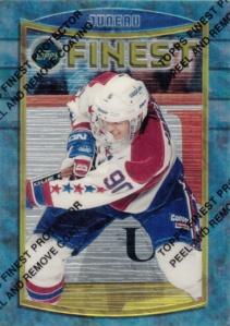 1994-95 Topps Finest Joe Juneau