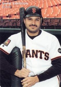 1994 Mother's Cookies Giants Mark Carreon