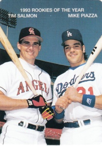 1994 Mother's Cookies Rookie Of The Year Salmon Piazza