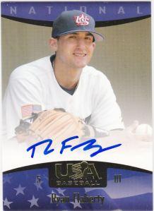 2008 UD USA Baseball Ryan Flaherty