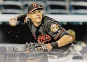 2015 Stadium Club Manny Machado