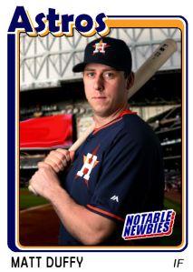 2015 TSR #279 - Matt Duffy (Astros)
