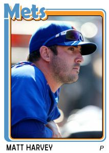 2015 TSR #410 - Matt Harvey