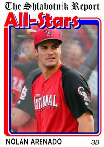 2015 TSR AS-5 Nolan Arenado